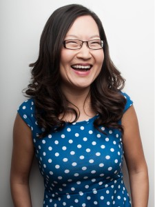 Helen Hong headshot laughing by Luke Fontana